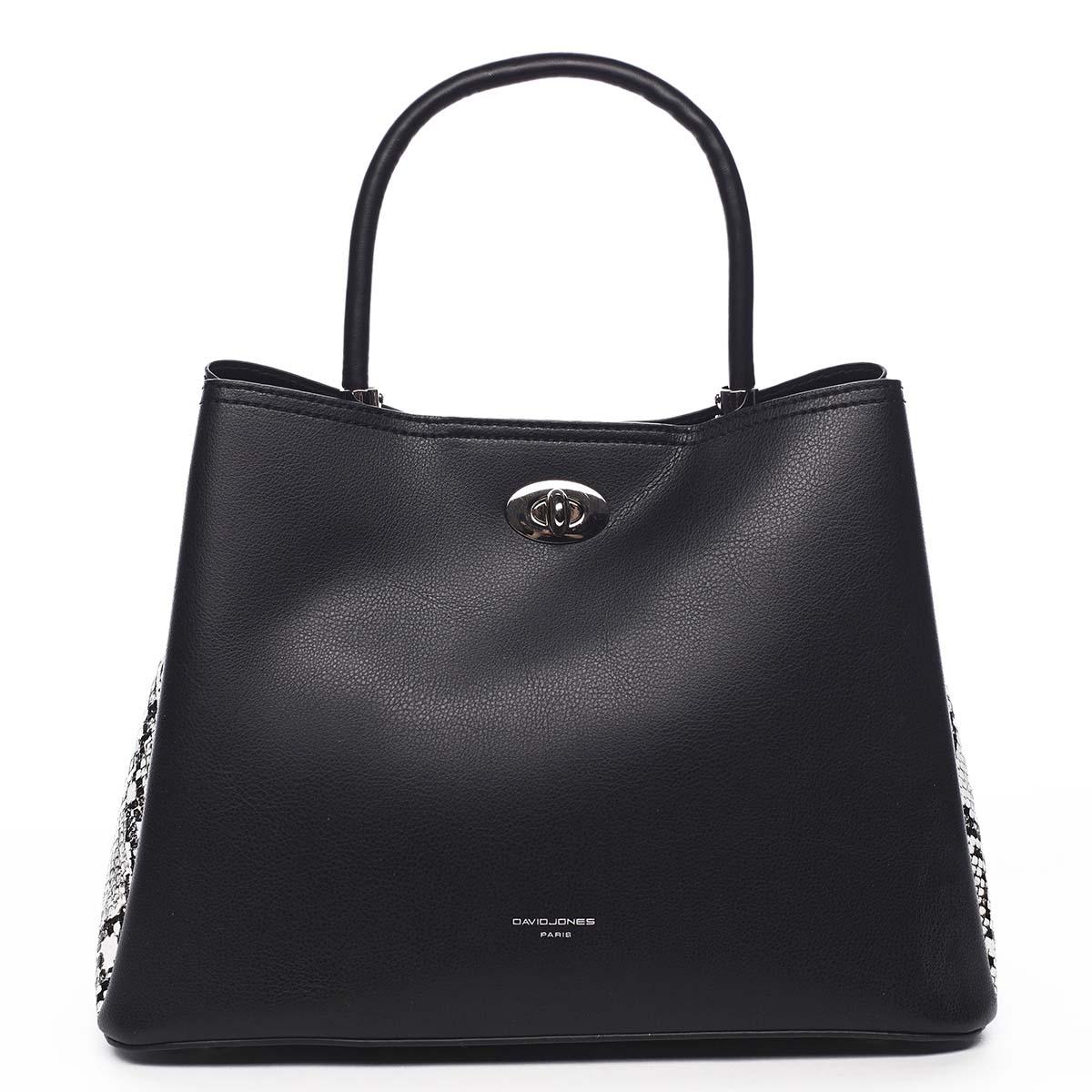 Dámská kabelka černá - David Jones Prestique
