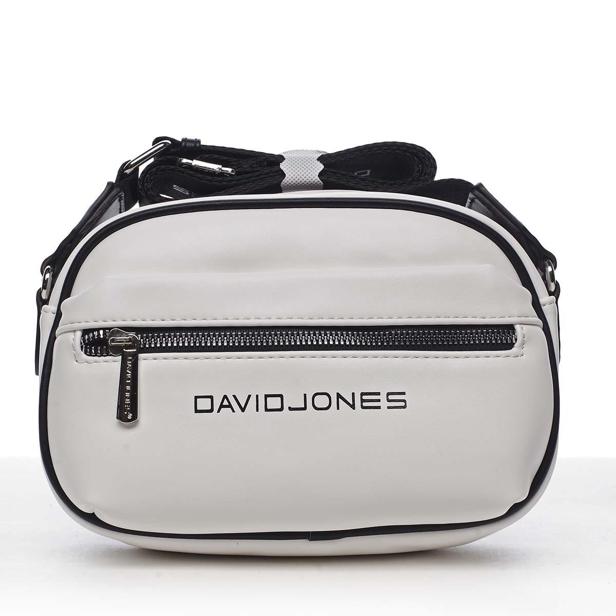 Dámská crossbody kabelka bílá - David Jones Jolanis