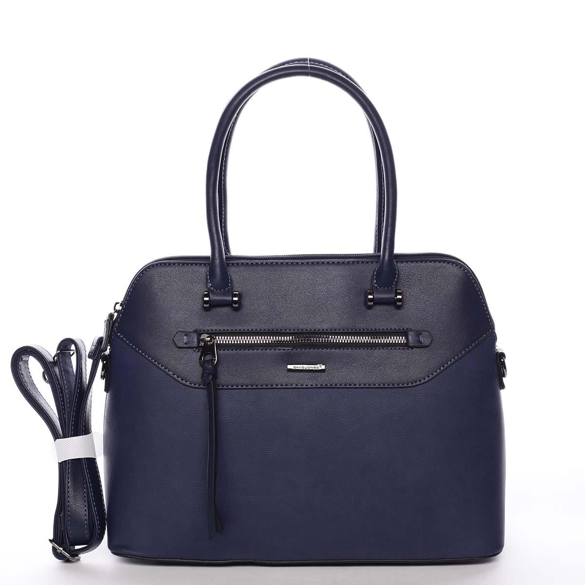 Dámská kabelka tmavě modrá - David Jones Evania