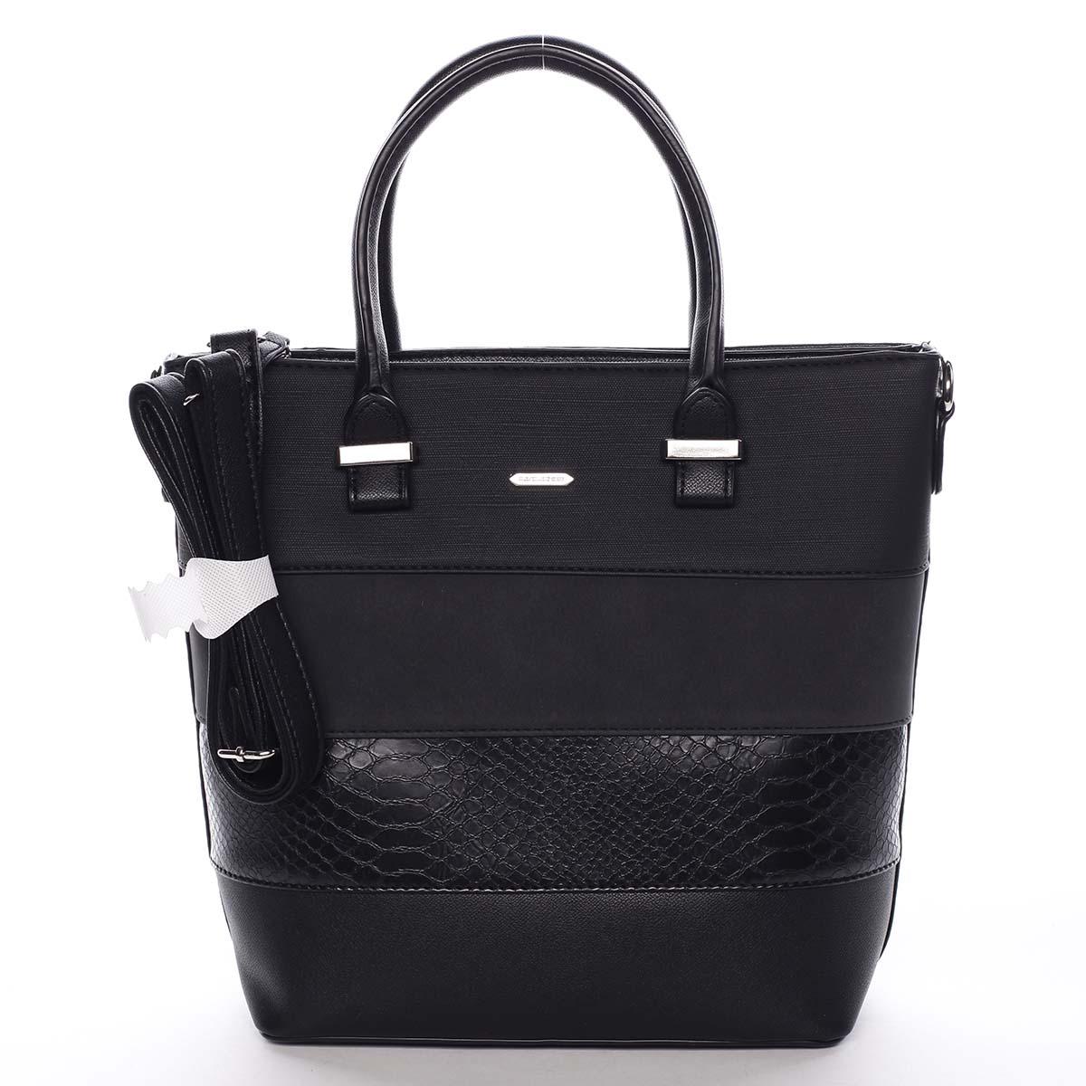 Dámská kabelka černá - David Jones Geeta