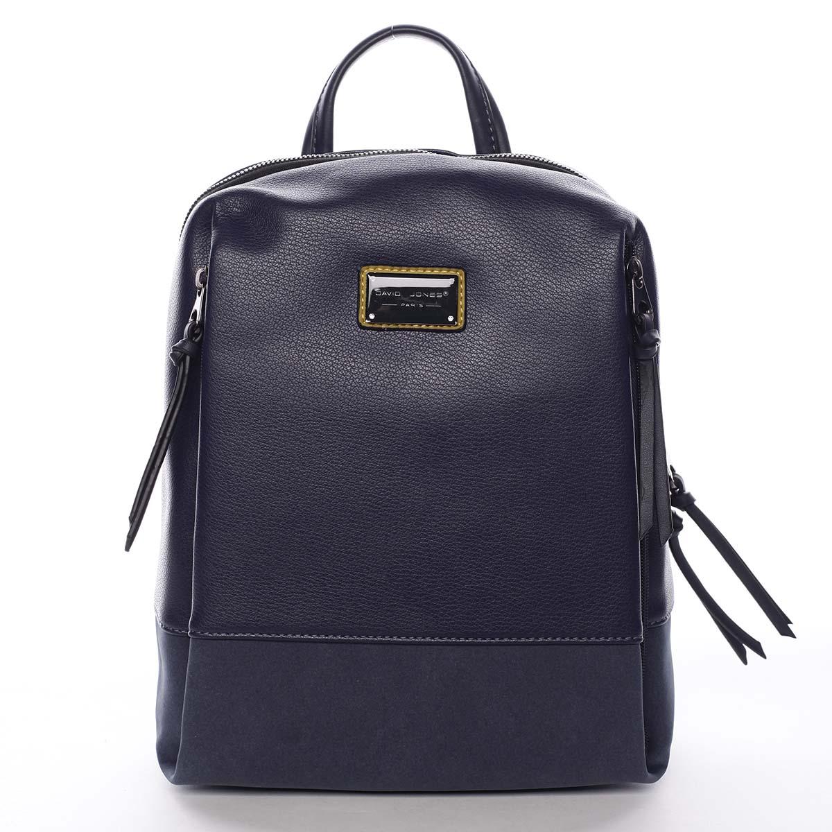 Dámský batoh tmavě modrý - David Jones Nova