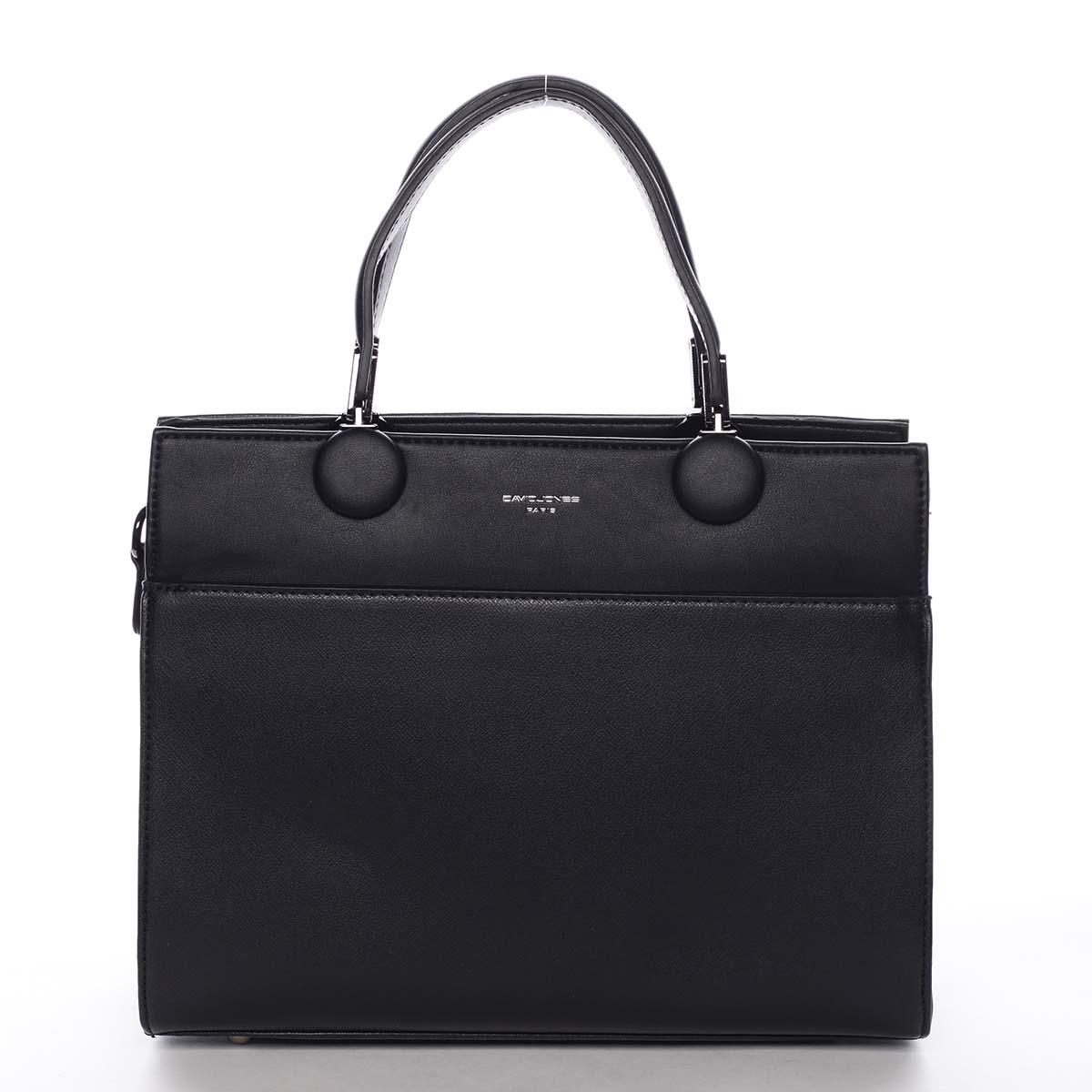 Dámská kabelka do ruky černá - David Jones Edma