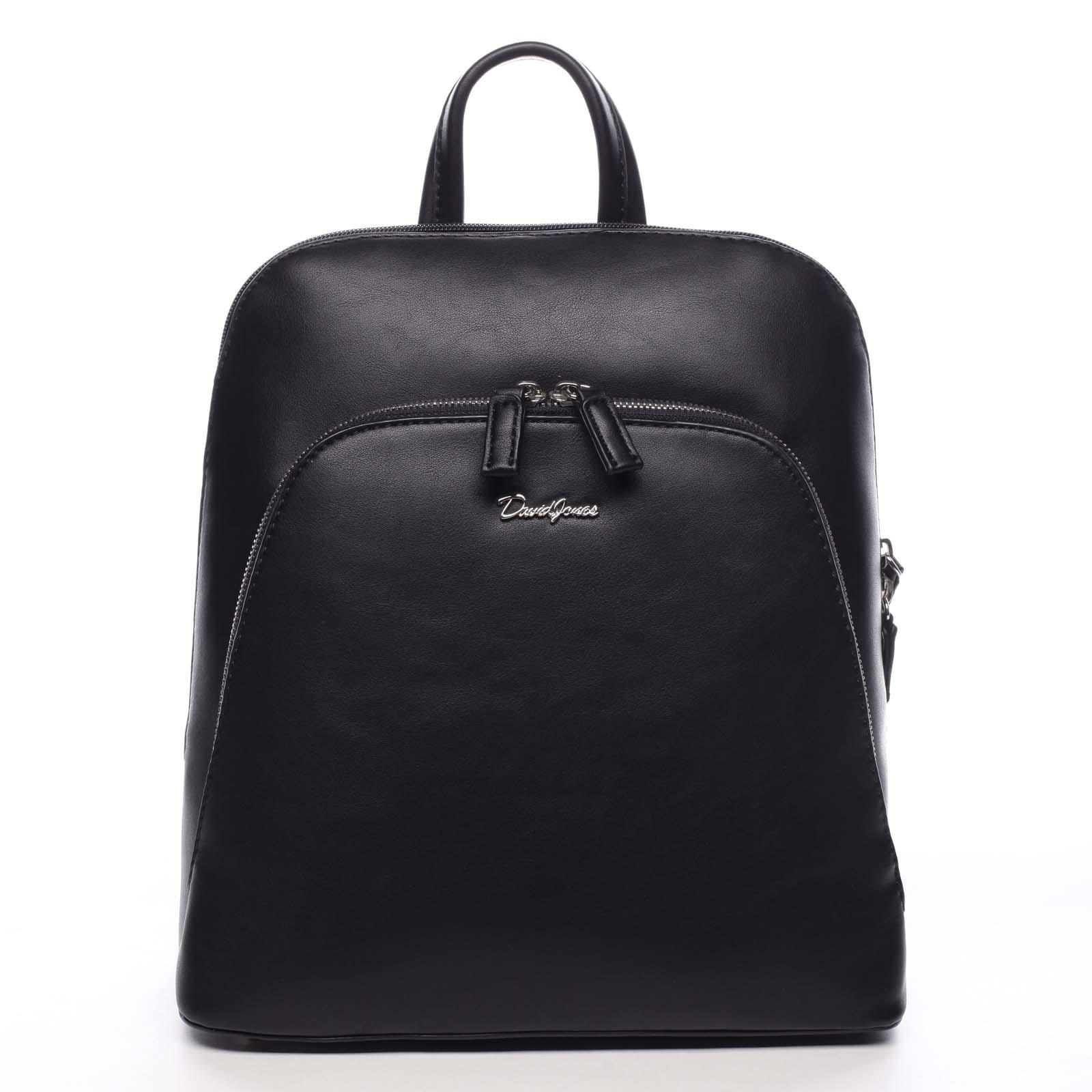 Dámský městský batoh černý - David Jones Yordan