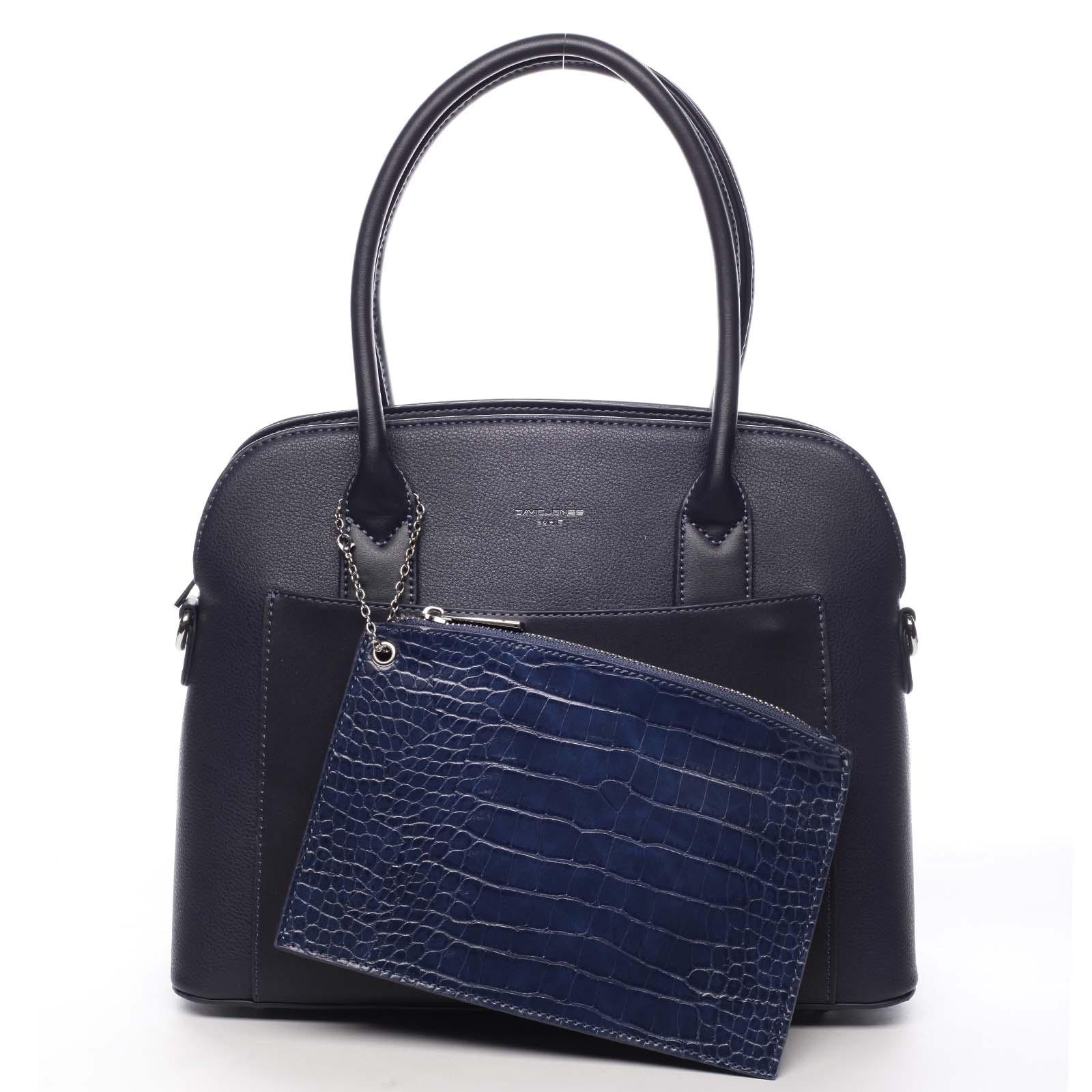 Dámská kabelka tmavě modrá - David Jones Caleed
