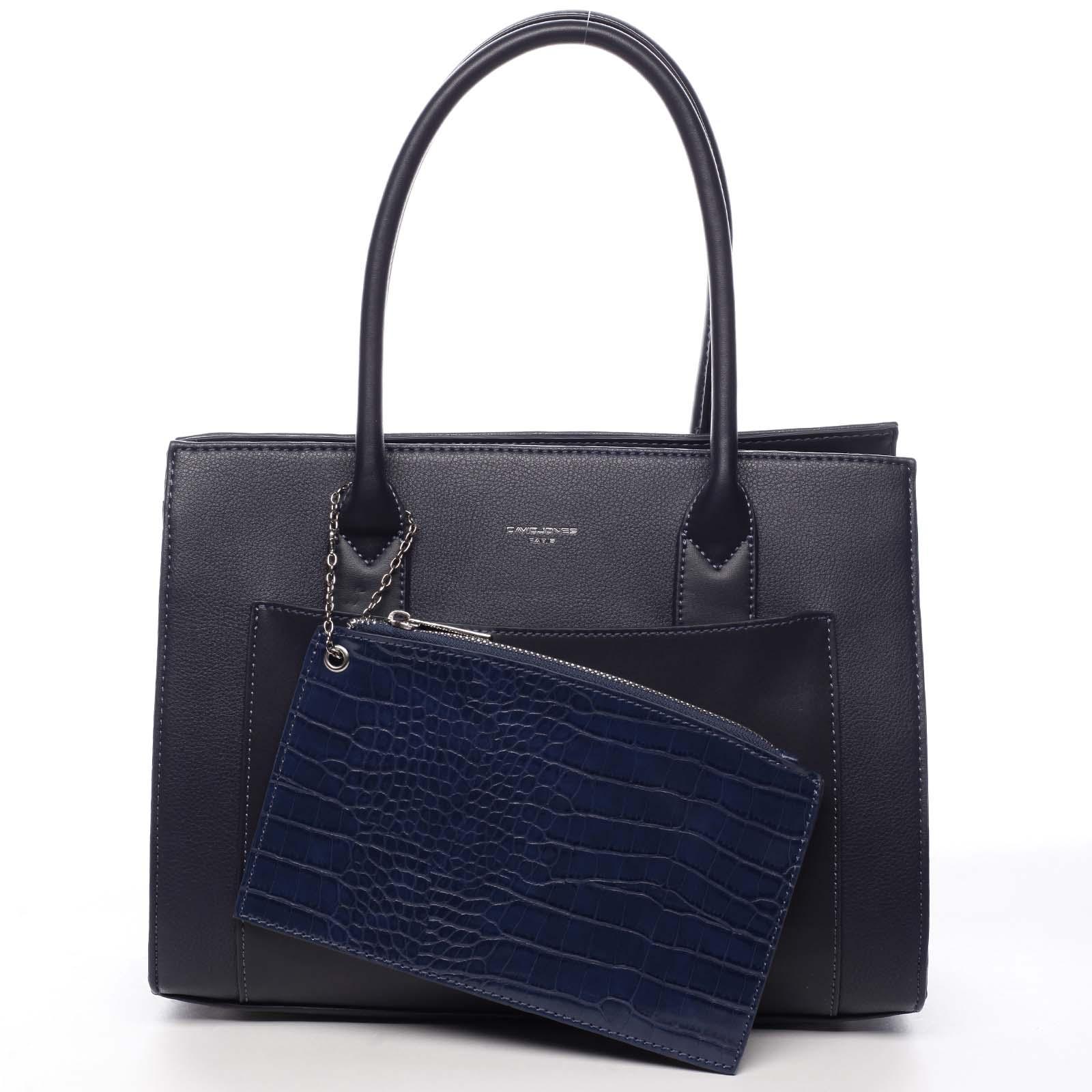 Dámská kabelka přes rameno tmavě modrá - David Jones Gilsia