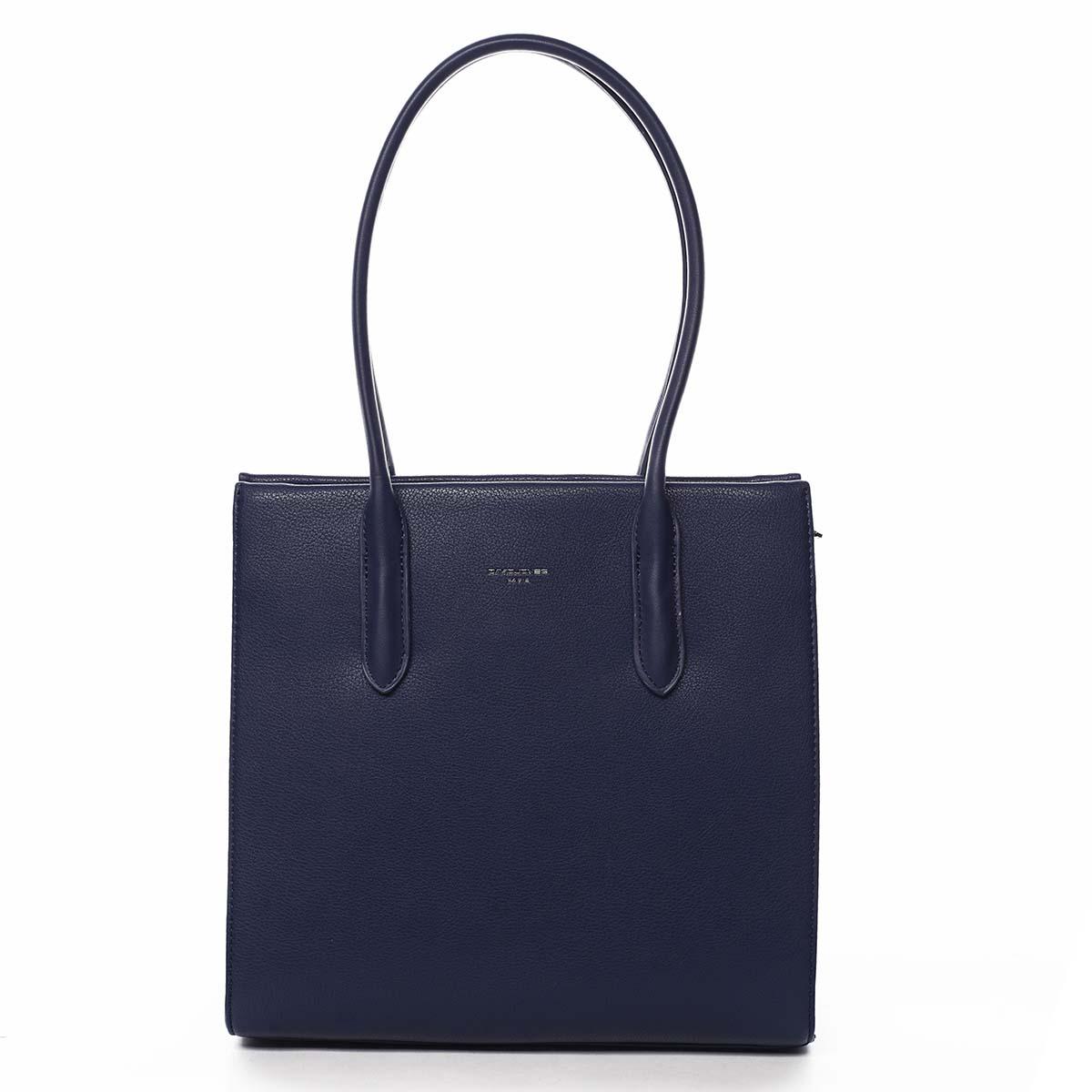 Dámská kabelka přes rameno tmavě modrá - David Jones Sementis