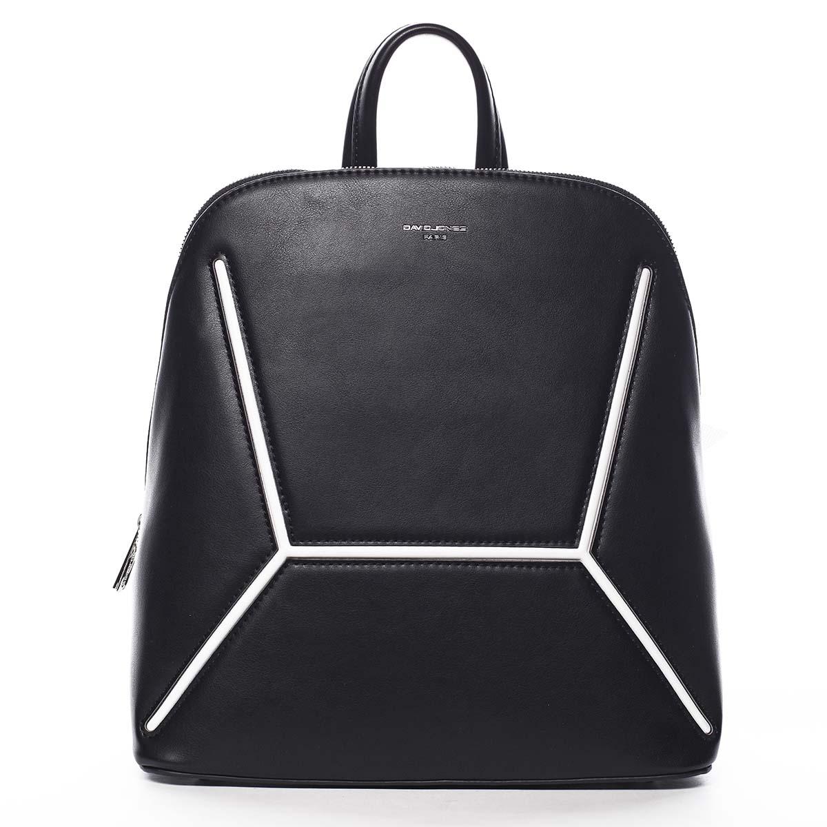 Dámský módní batoh černý - David Jones Haptun