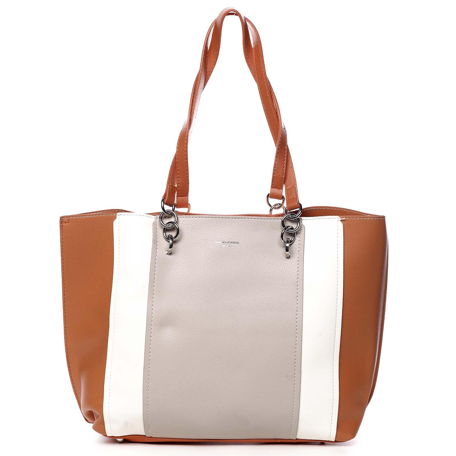 Dámská kabelka přes rameno oranžová - David Jones Reason