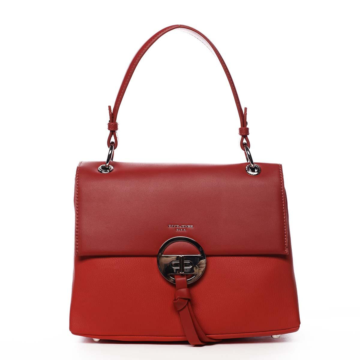 Dámská kabelka červená - David Jones Aminisha