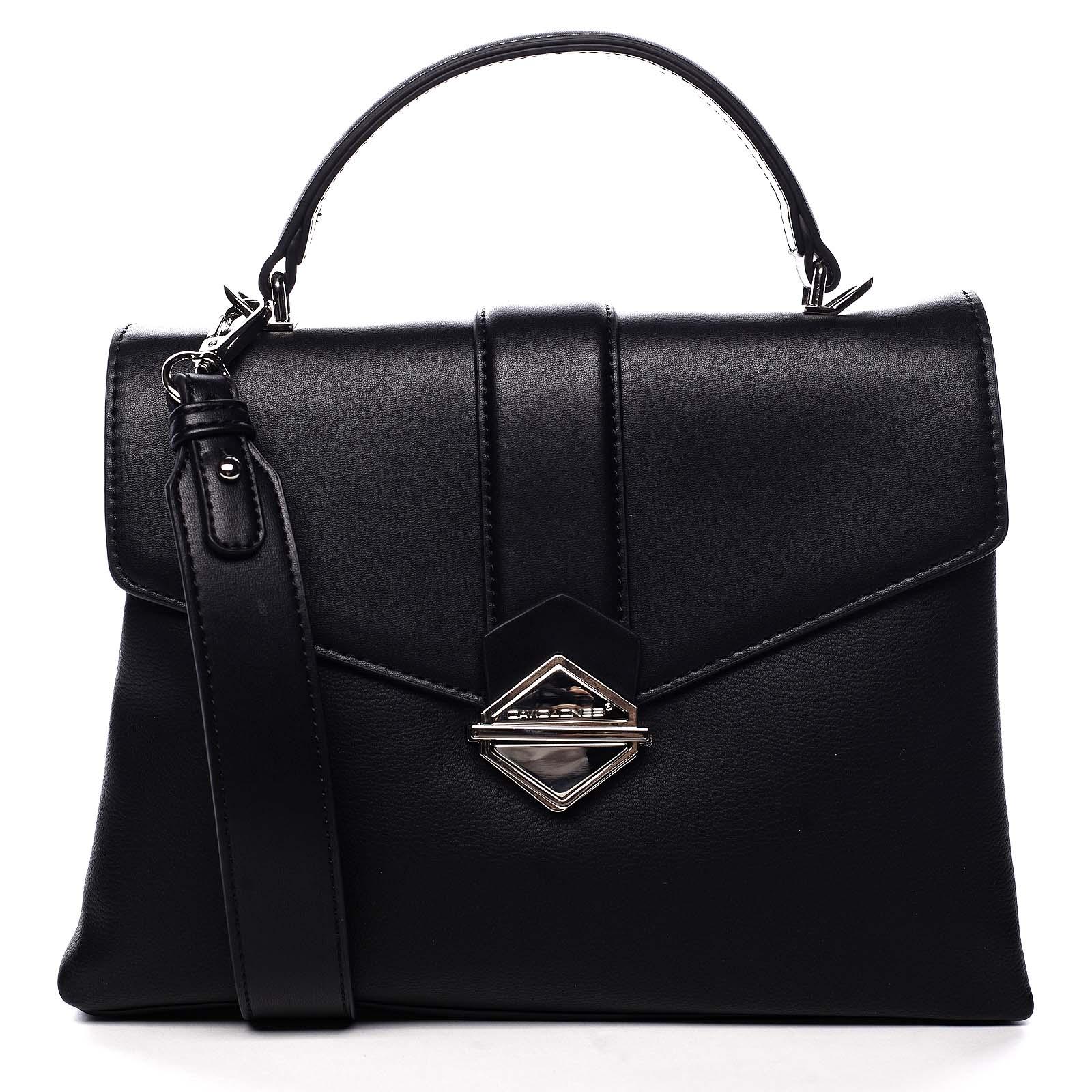 Dámská kabelka do ruky černá - David Jones Africa