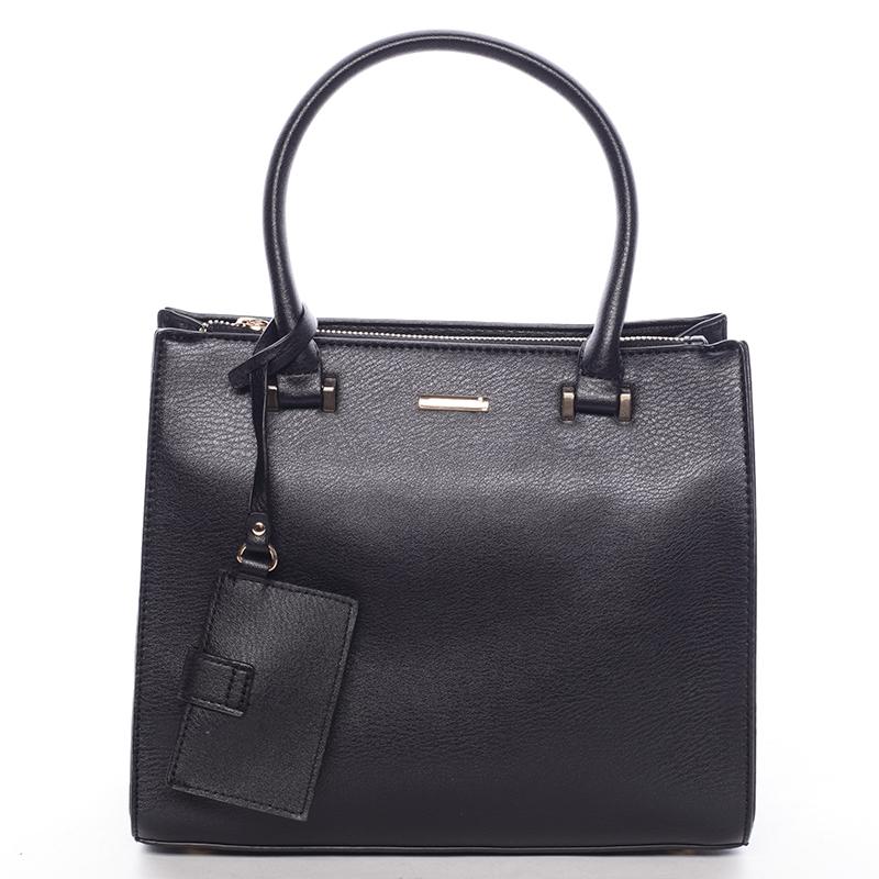 Elegantní dámská kabelka do ruky černá - David Jones Halette