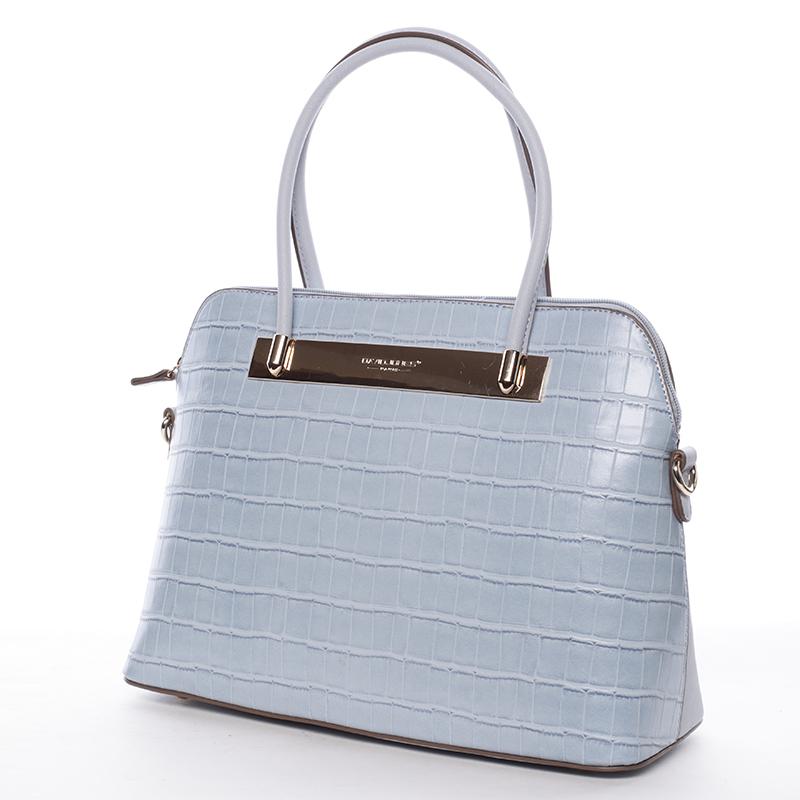 Originální dámská kabelka do ruky světle modrá - David Jones Merla