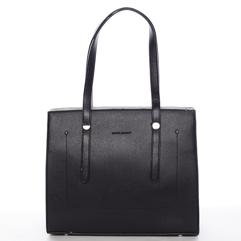 Módní dámská kabelka přes rameno černá - David Jones Chardae