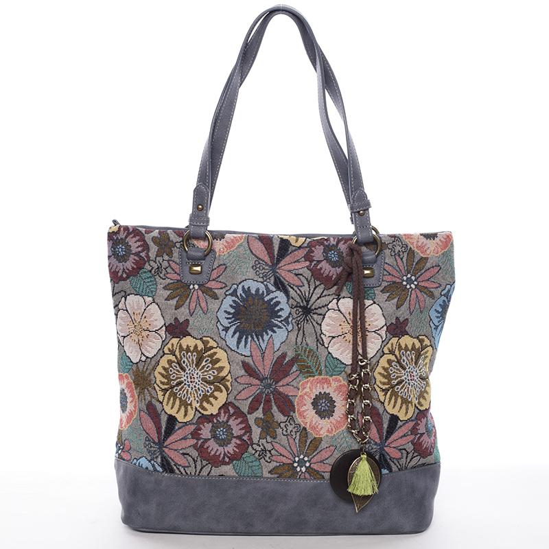 Originální dámská kabelka přes rameno modrá - David Jones Cherell
