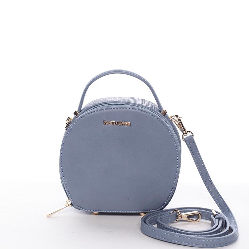 Moderní dámská crossbody kabelka modrá - David Jones Adilene