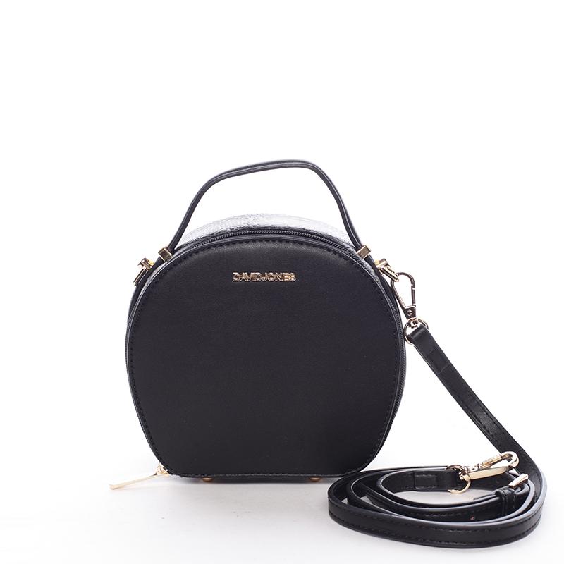 Moderní dámská crossbody kabelka černá - David Jones Adilene