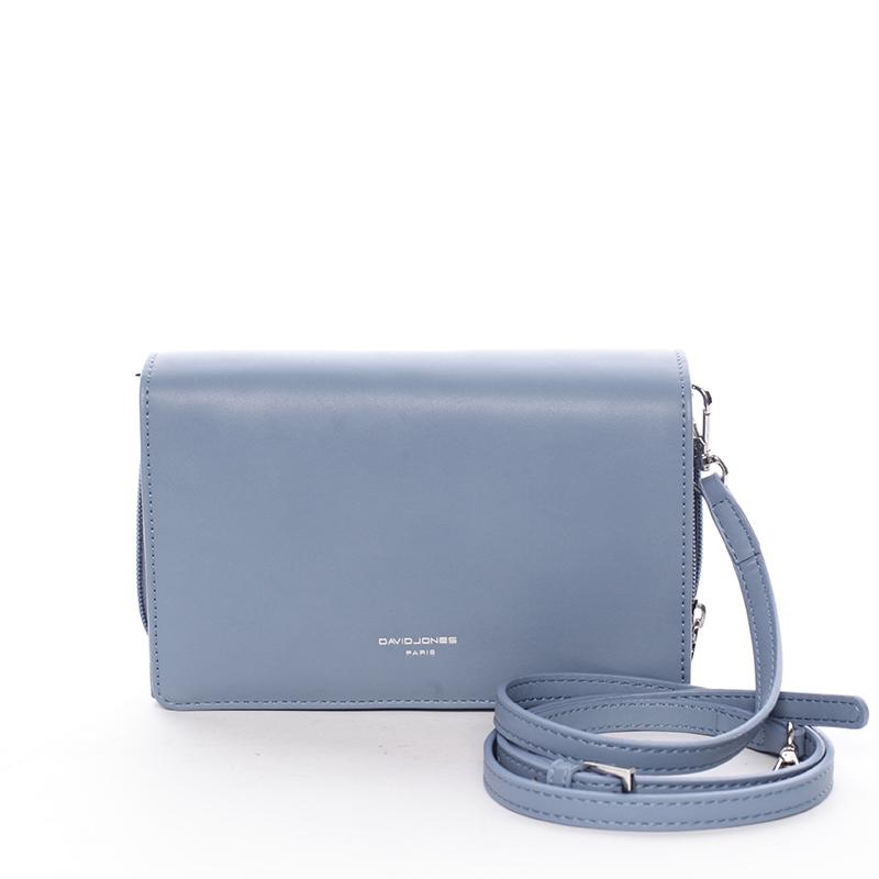 Originální dámská peněženka psaníčko modrá - David Jones Avenelle
