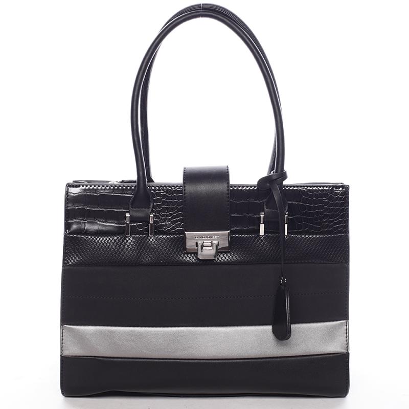 Trendy dámská kabelka do ruky černá - David Jones Nayomi