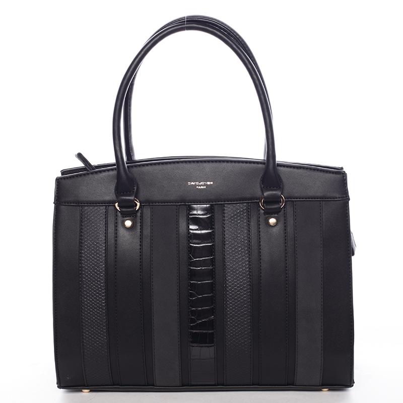 Exkluzivní dámská kabelka do ruky černá - David Jones Josobelle