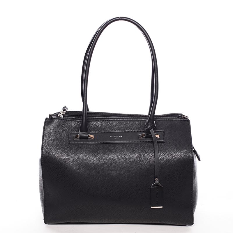 Elegantní dámská kabelka černá - David Jones Issy
