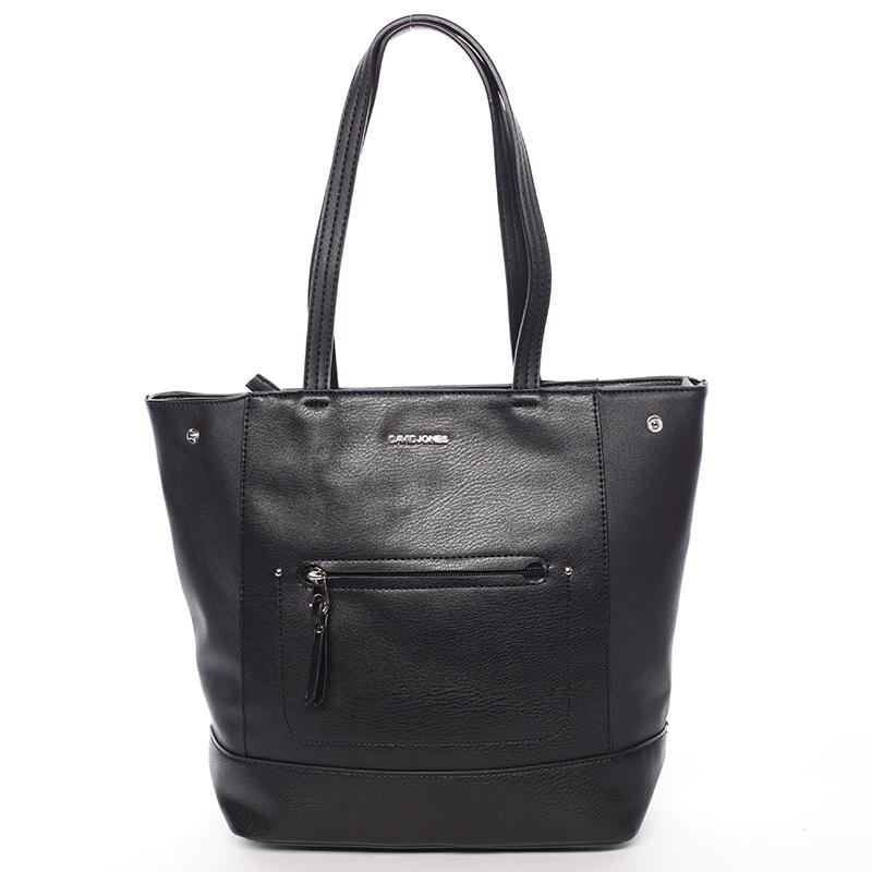 Dámská elegantní kabelka přes rameno černá - David Jones Dotty