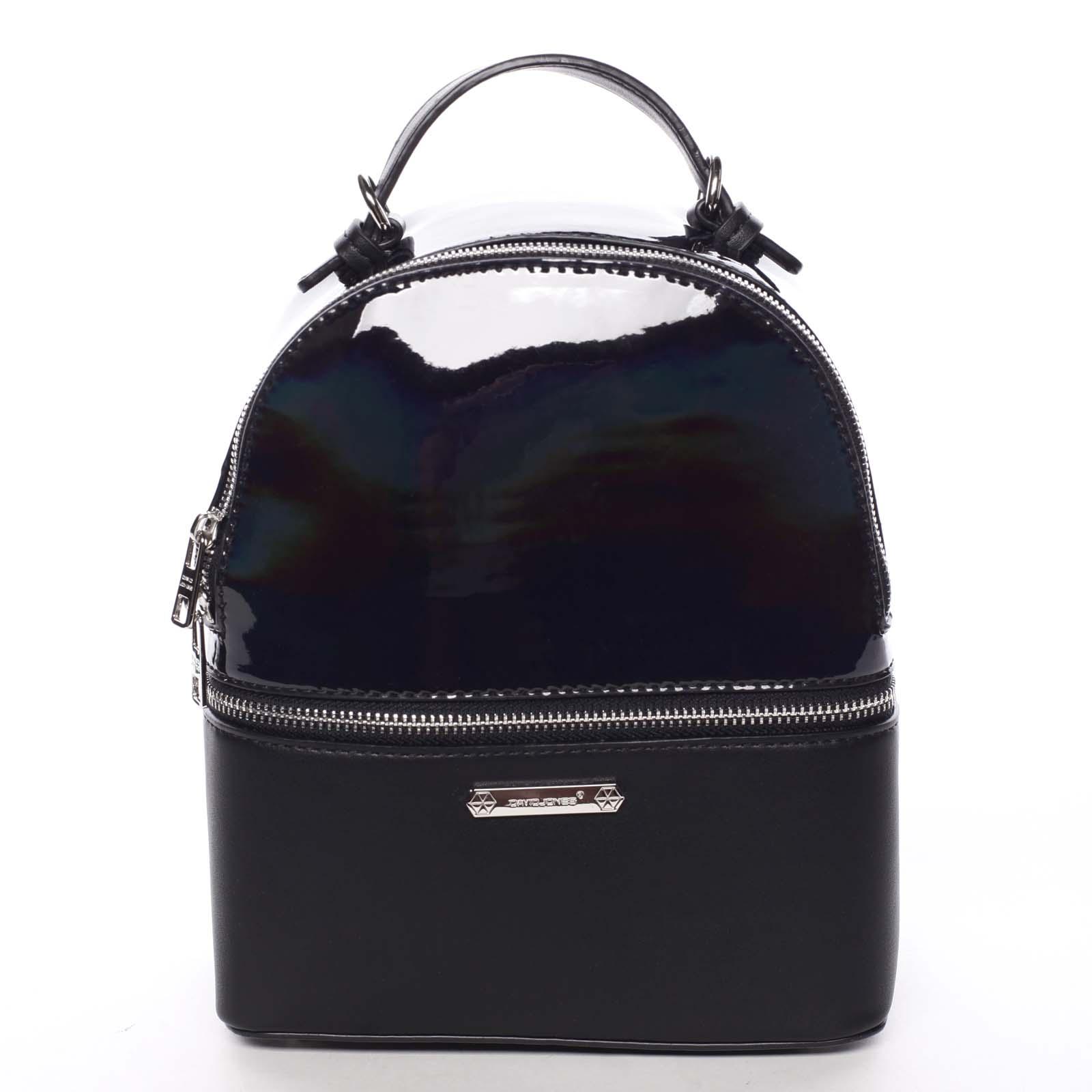 Stylový městský batůžek/kabelka černý - David Jones Diondre