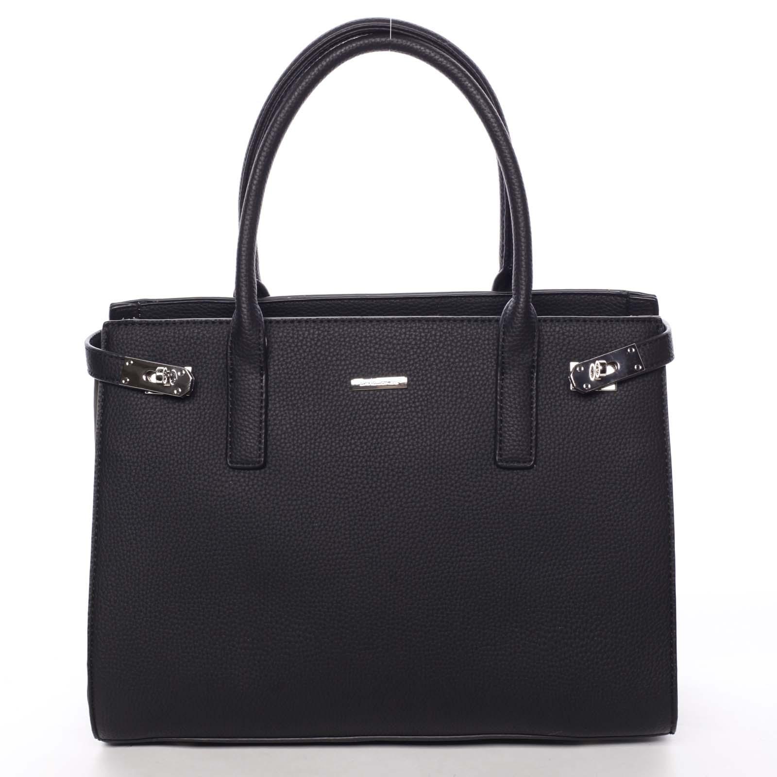 Atraktivní dámská kabelka do ruky černá - David Jones Eugenie
