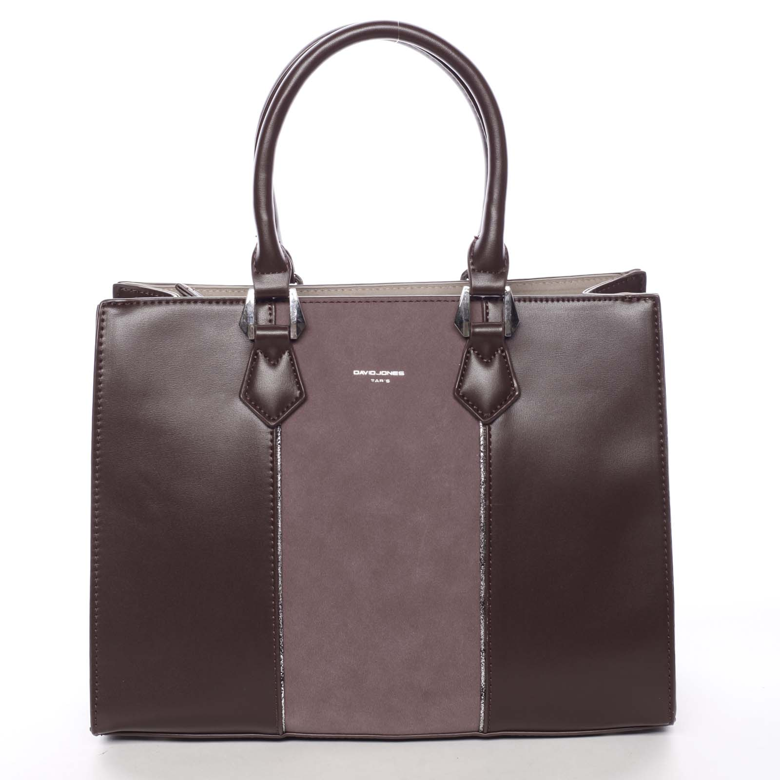 Elegantní dámská vínová kabelka do ruky - David Jones Zeruiah