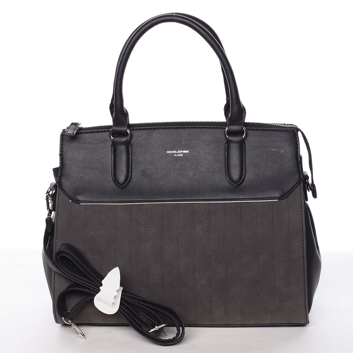 Luxusní nadčasová dámská černá kabelka - David Jones Allison