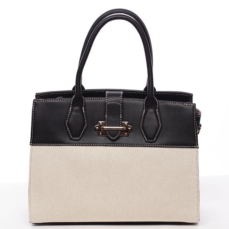 Dámská elegantní kabelka černá - David Jones Elicia