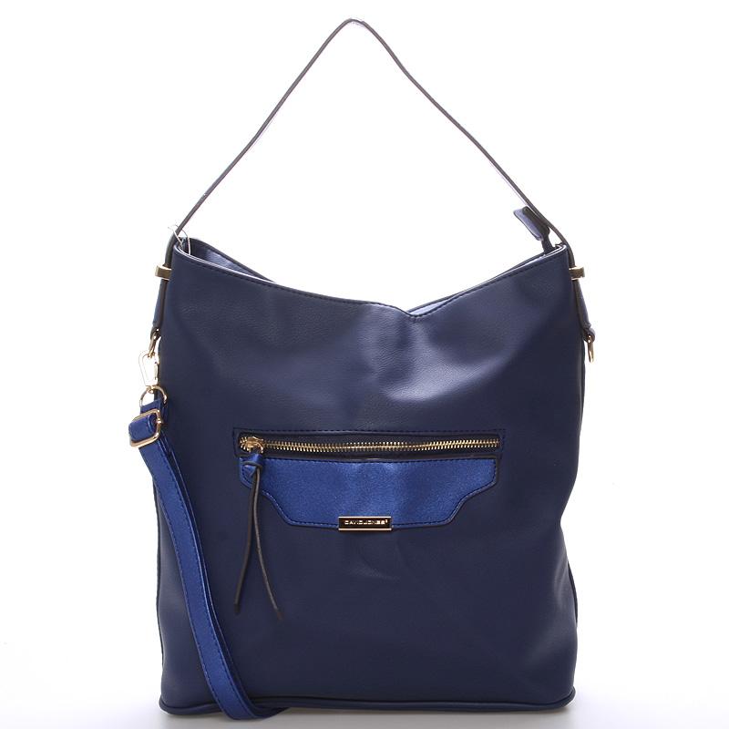 Dámská kabelka přes rameno modrá - David Jones Belle