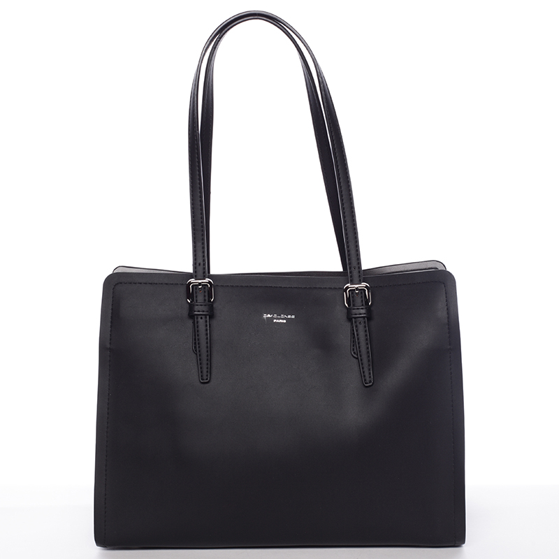 Elegantní černá kabelka přes rameno - David Jones Rayna