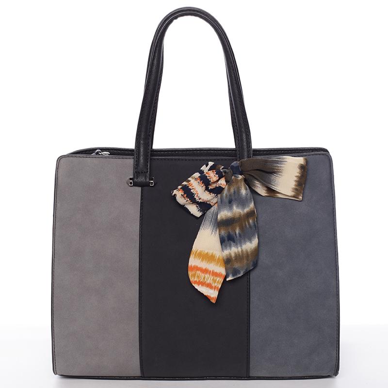 Elegantní černá kabelka do ruky - David Jones Daphne