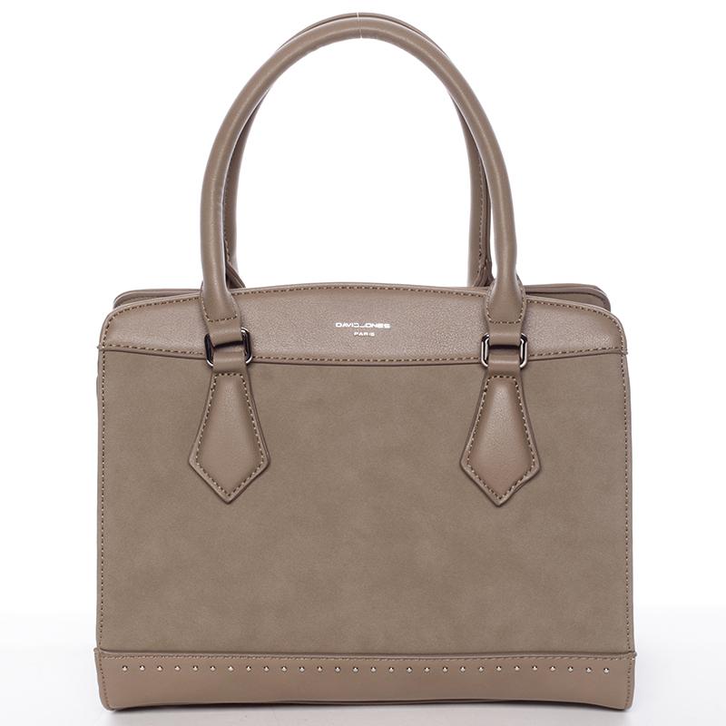 Elegantní khaki dámská kabelka - David Jones Tessa