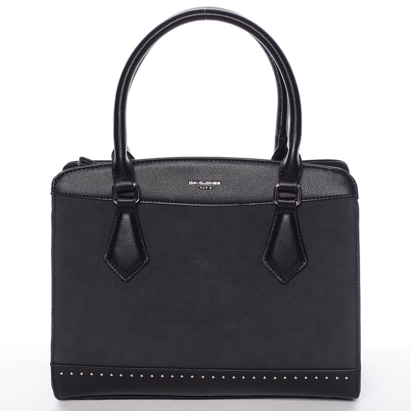 Elegantní černá dámská kabelka - David Jones Tessa