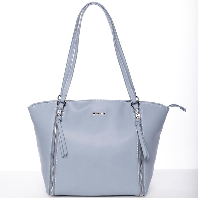 Luxusní dámská kabelka přes rameno světle modrá - David Jones Lenore