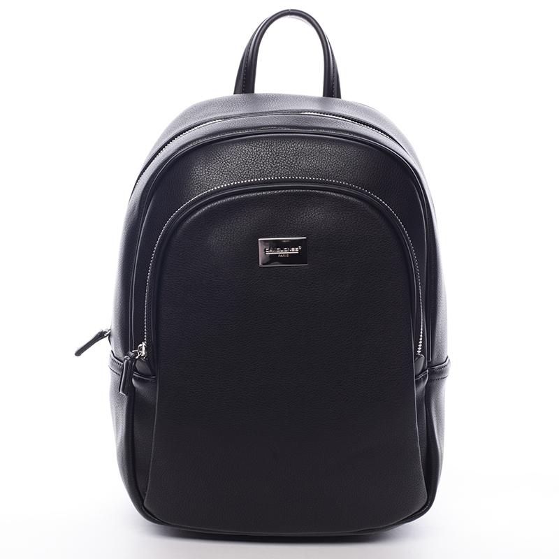 Dámský měkký městský batoh černý - David Jones Beatrice