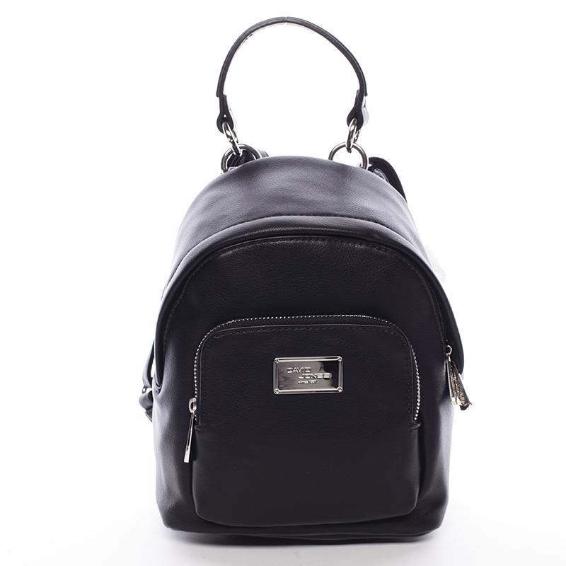 Malý dámský batůžek černý - David Jones Zinhar