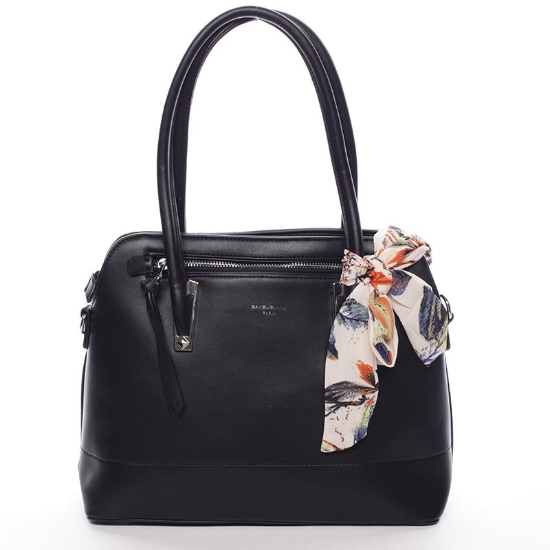 Elegantní trendy černá kabelka do ruky - David Jones Felicity