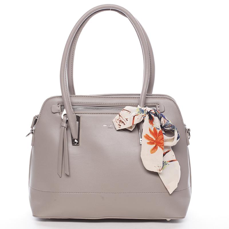 Elegantní trendy šedá kabelka do ruky - David Jones Felicity
