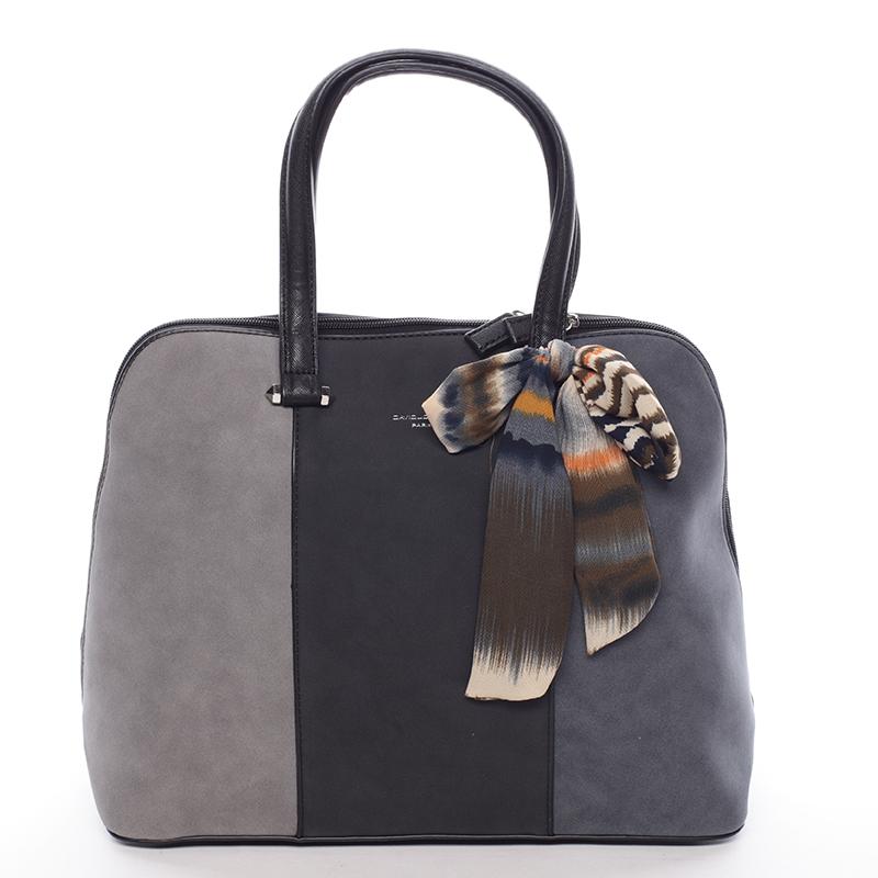 Trendy černá kabelka do ruky - David Jones Josie