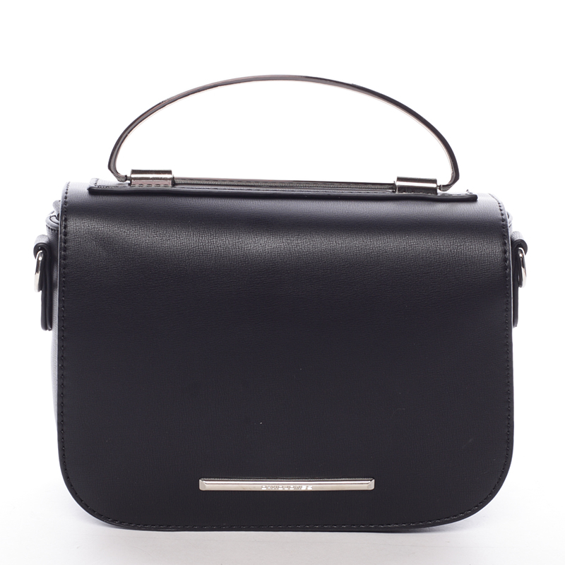 Malá luxusní černá kabelka do ruky - David Jones Layna
