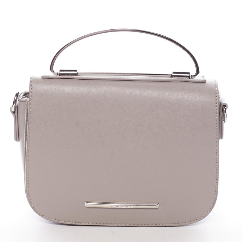 Malá luxusní šedá kabelka do ruky - David Jones Layna