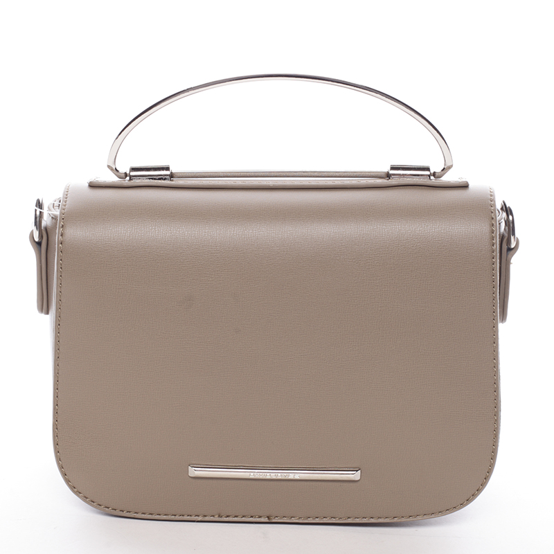 Malá luxusní khaki kabelka do ruky - David Jones Layna