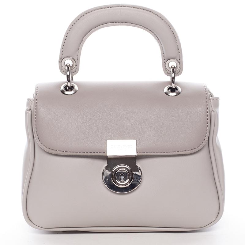 Originální šedá dámská kabelka do ruky - David Jones Latona