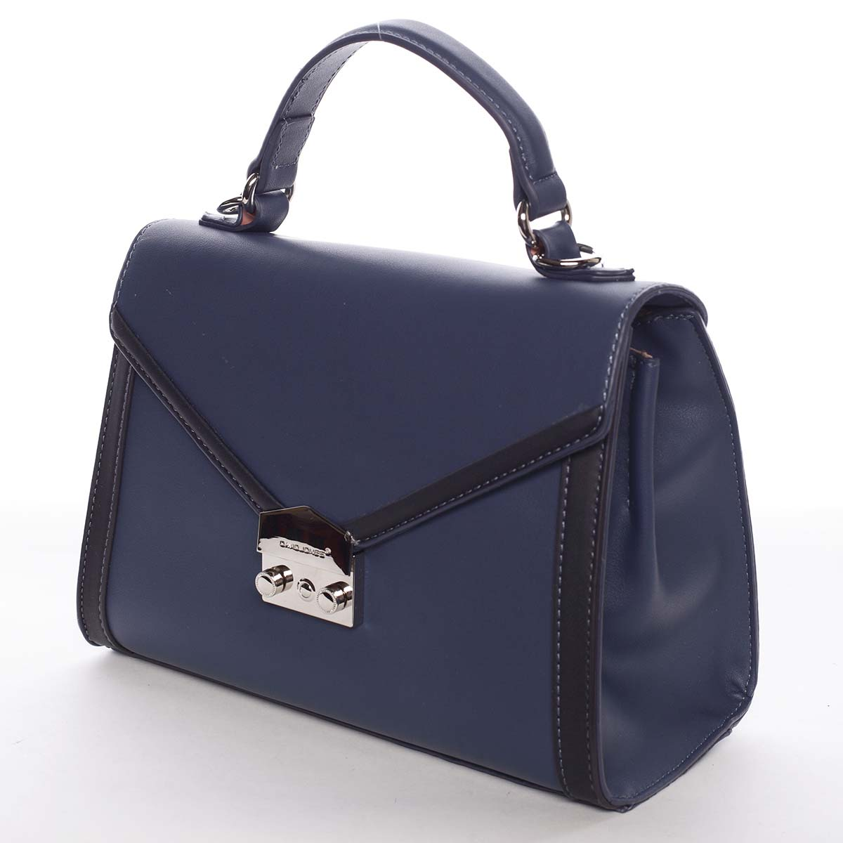 Exkluzivní menší dámská kabelka do ruky tmavě modrá - David Jones Mayumi