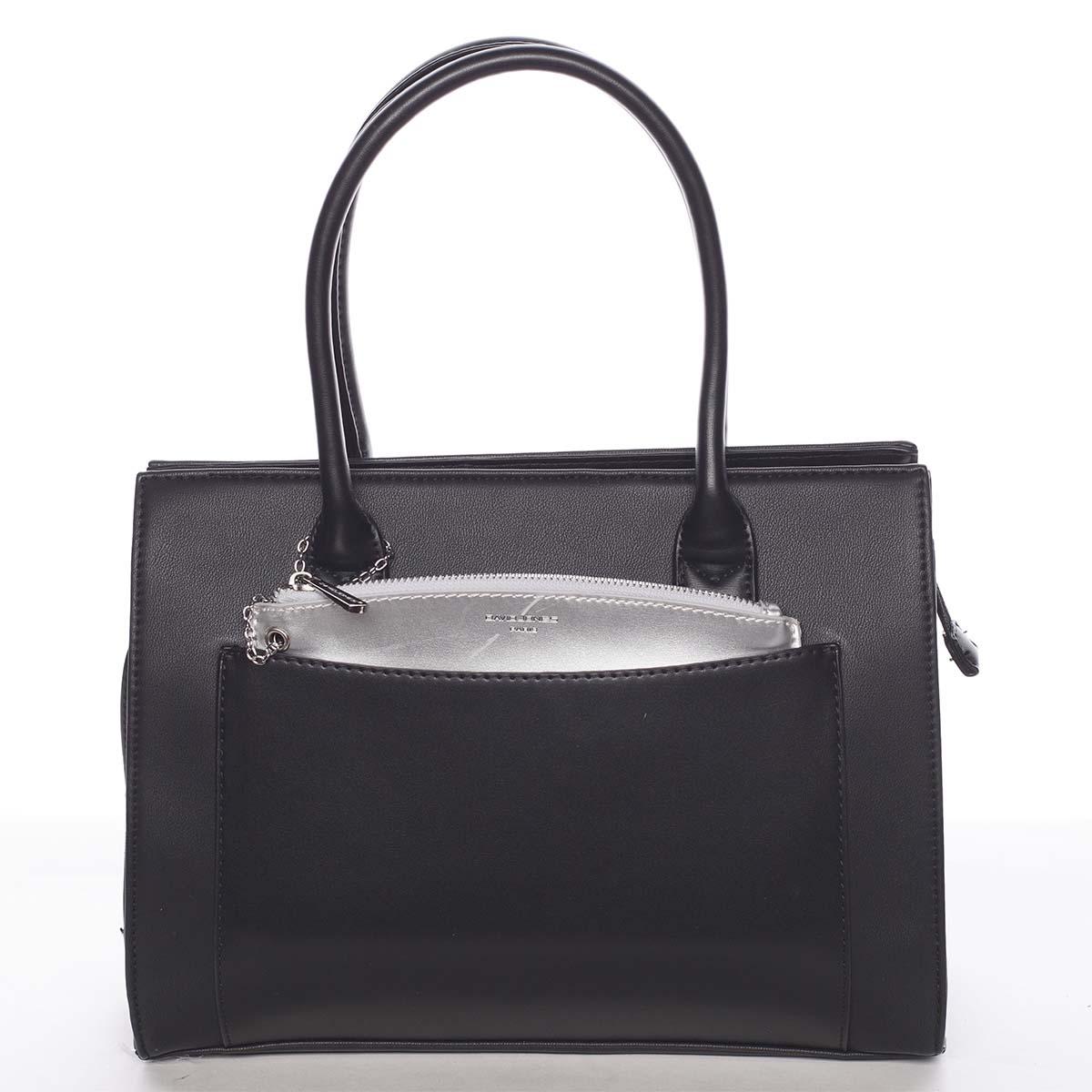 Exkluzivní dámská černá kabelka - David Jones Hillary