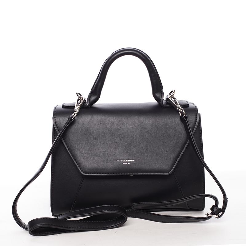 Elegantní dámská kabelka do ruky černá - David Jones Sukaw