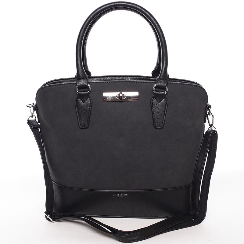 Dámská elegantní černá kabelka - David Jones Arisia