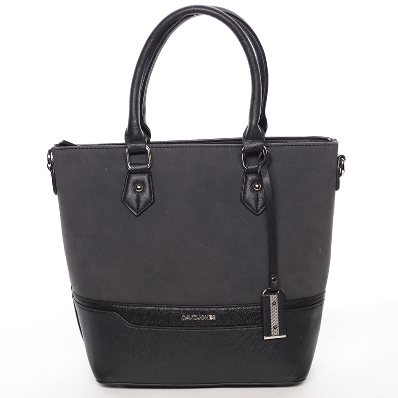 Trendy dámská kabelka do ruky černá - David Jones Teherra